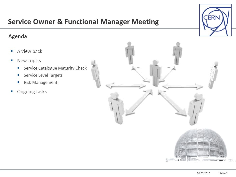 Service Management for CERN Service Owner & Functional Manager ...