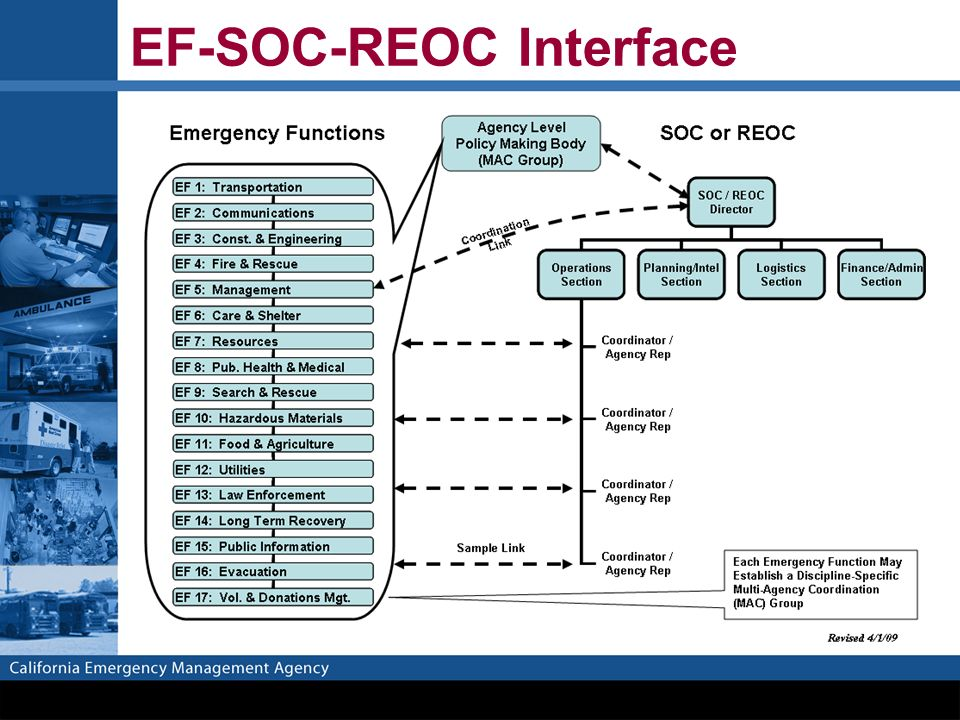 EF-SOC-REOC Interface