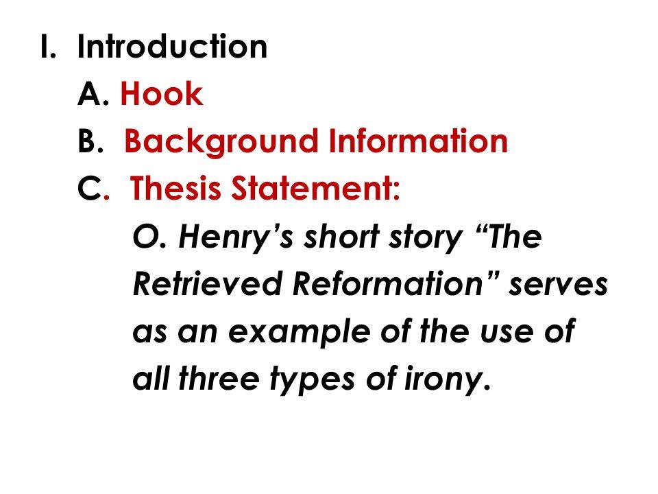 information essay example