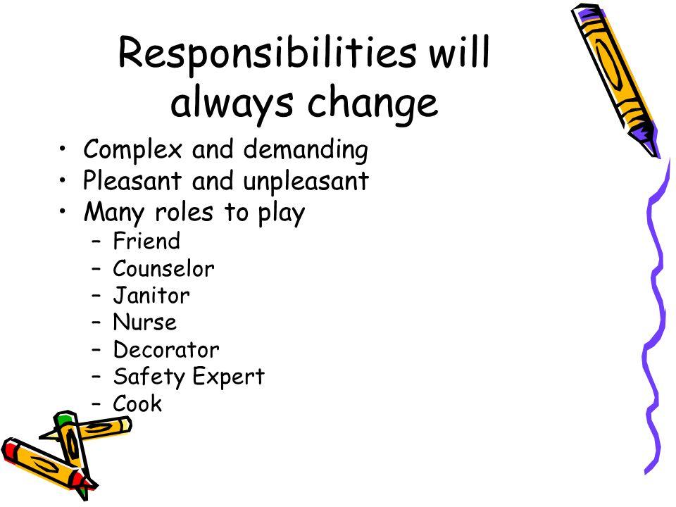 janitor responsibilities
