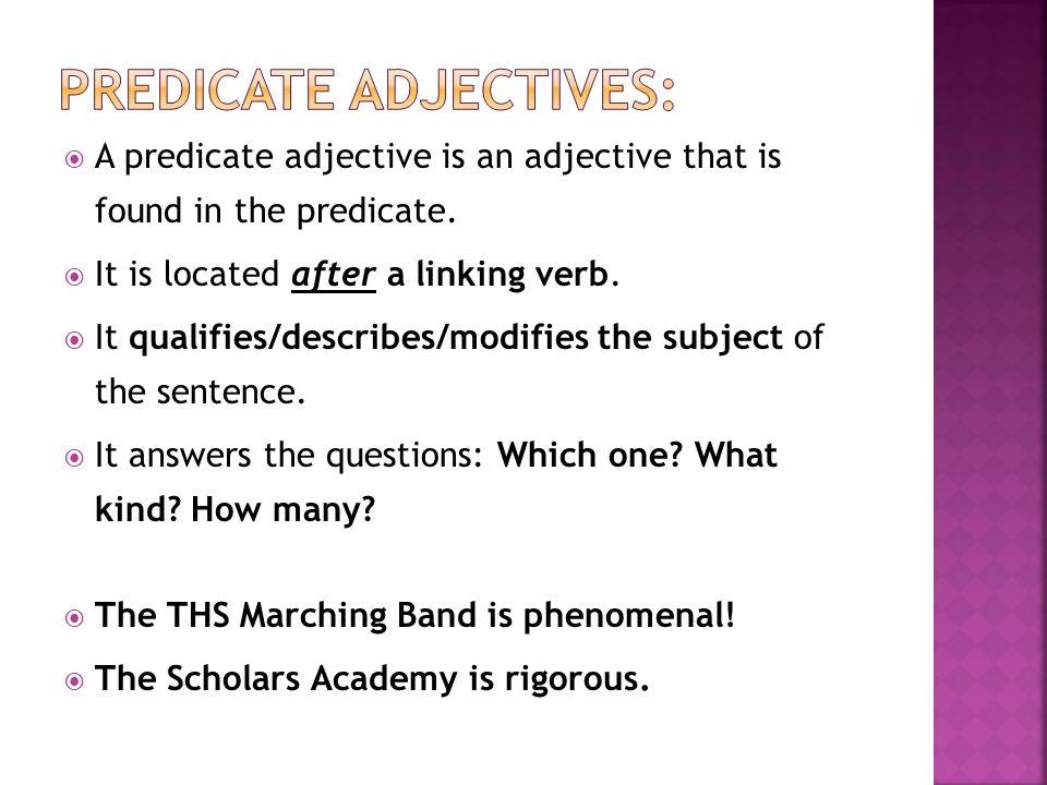 Printables Predicate Adjective Worksheet predicate adjective worksheets davezan vintagegrn