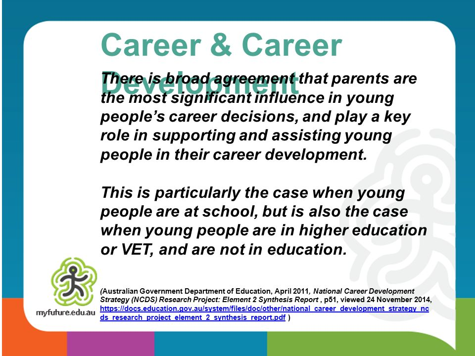 Z parents a glimpse of myfuture and career pathway planning ppt 5 career career development malvernweather Image collections