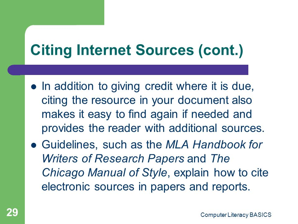 citing sources in essay from internet This article describes 2016 mla web citation style (mla handbook, 8th ed) evaluating internet research sources virtualsalt 21 january 2015.