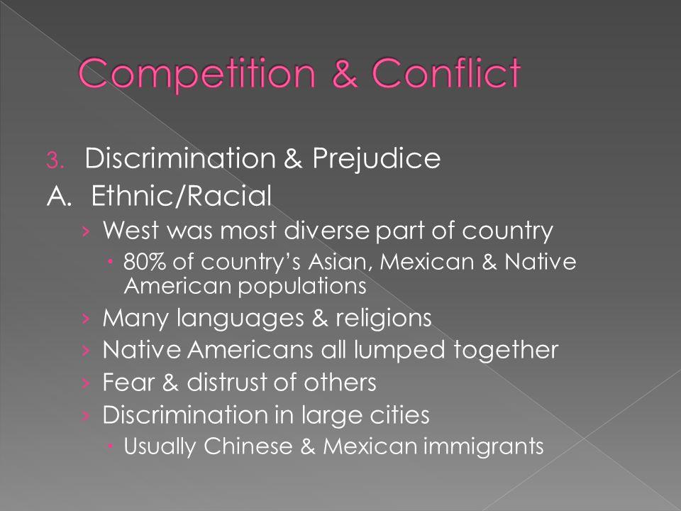 3. Discrimination & Prejudice A.