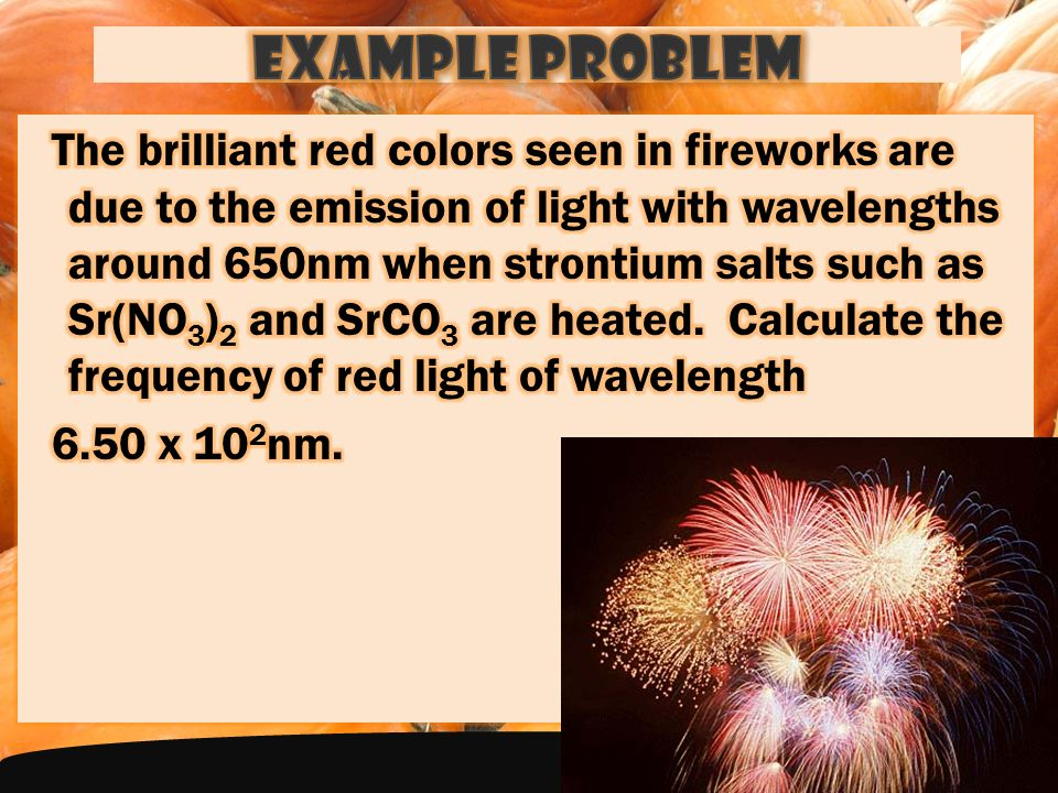 1.) Which color in the visible spectrum has the highest frequency.
