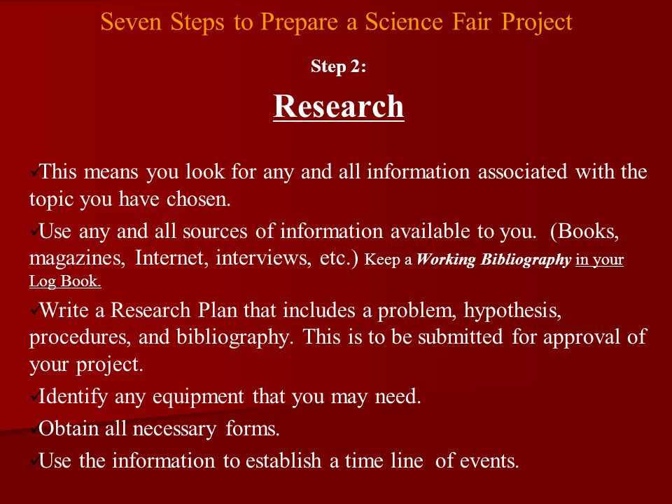background research paper on shake and light science fair How to write a science fair project research paper  does your background research enable you to make a prediction of what will occur in your experiment.