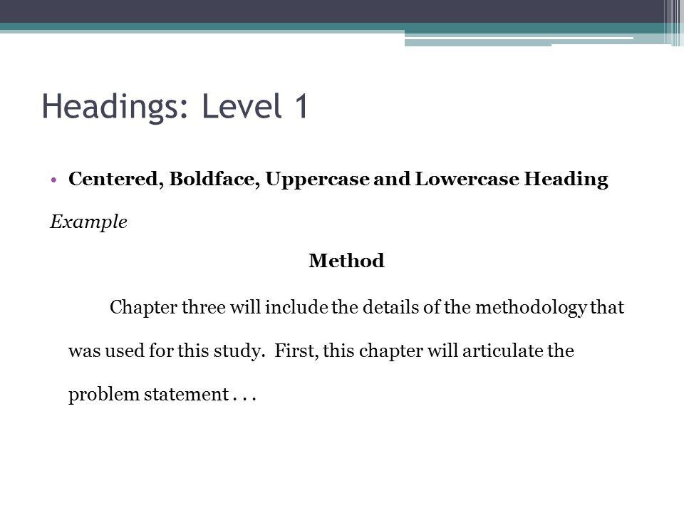 APA Headings Dr. Gustafson. What is a heading? APA Manual 6 th ...