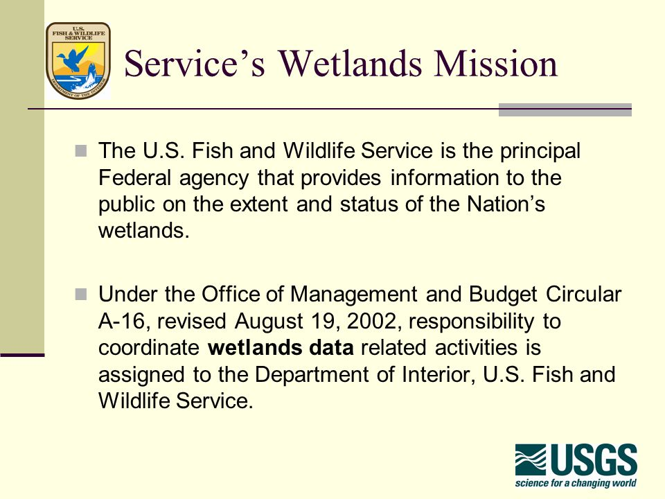 3 Service S Wetlands Mission The U S Fish And Wildlife