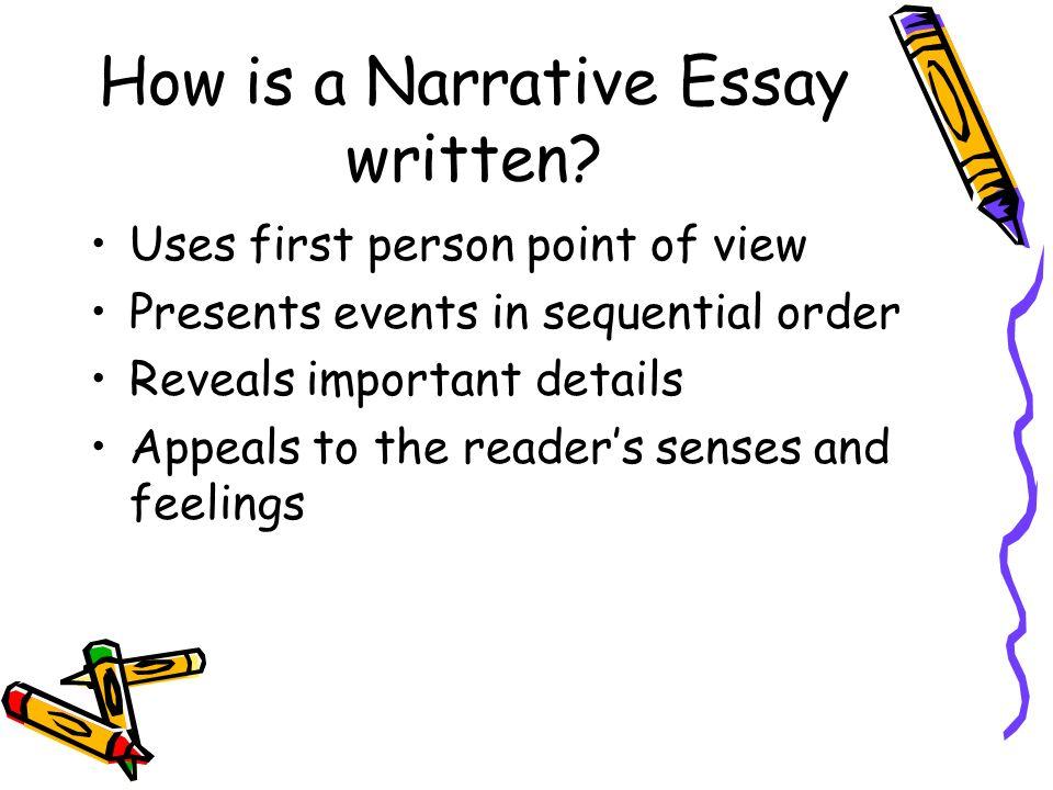 How is a Narrative Essay written.