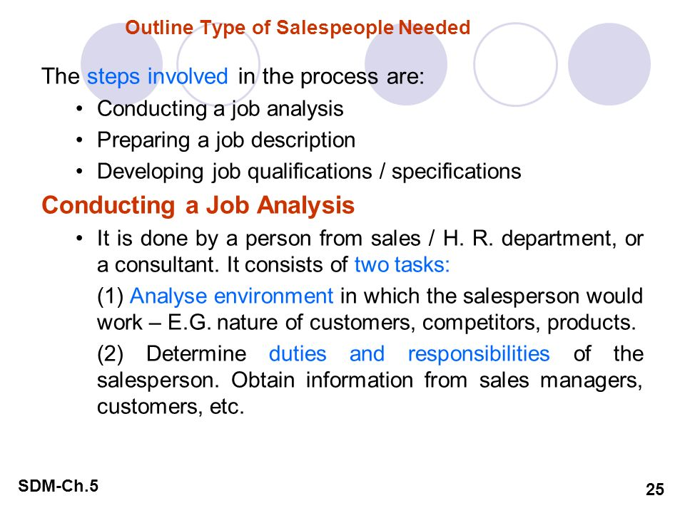 "describe the steps involved in the personal sales process What sales process do you use ""the six steps of the sales process"" are you prepared for the hiring manager to look across the table and ask you to tell him/her about the sales process that you use day in and day out."