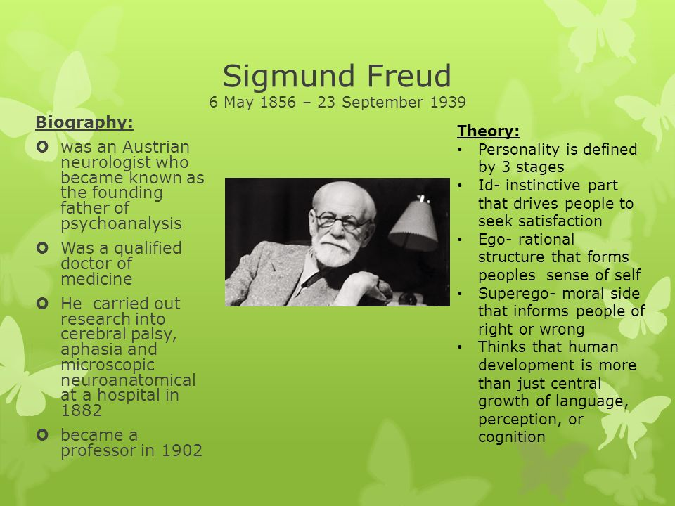 sigmund freud and his theories essay