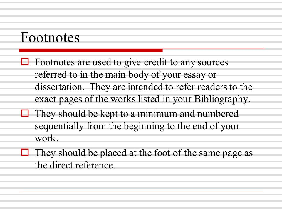 bibliographies footnotes waid academy library ppt  8 footnotes  footnotes