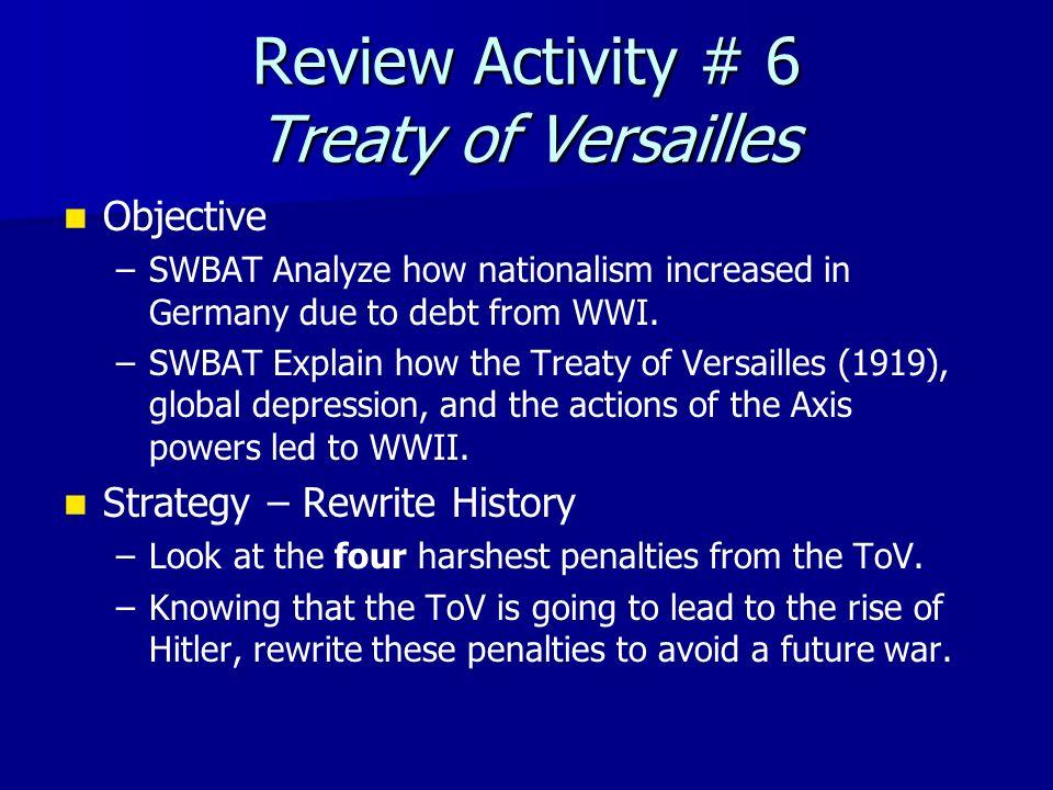 an analysis of treaty of versailles