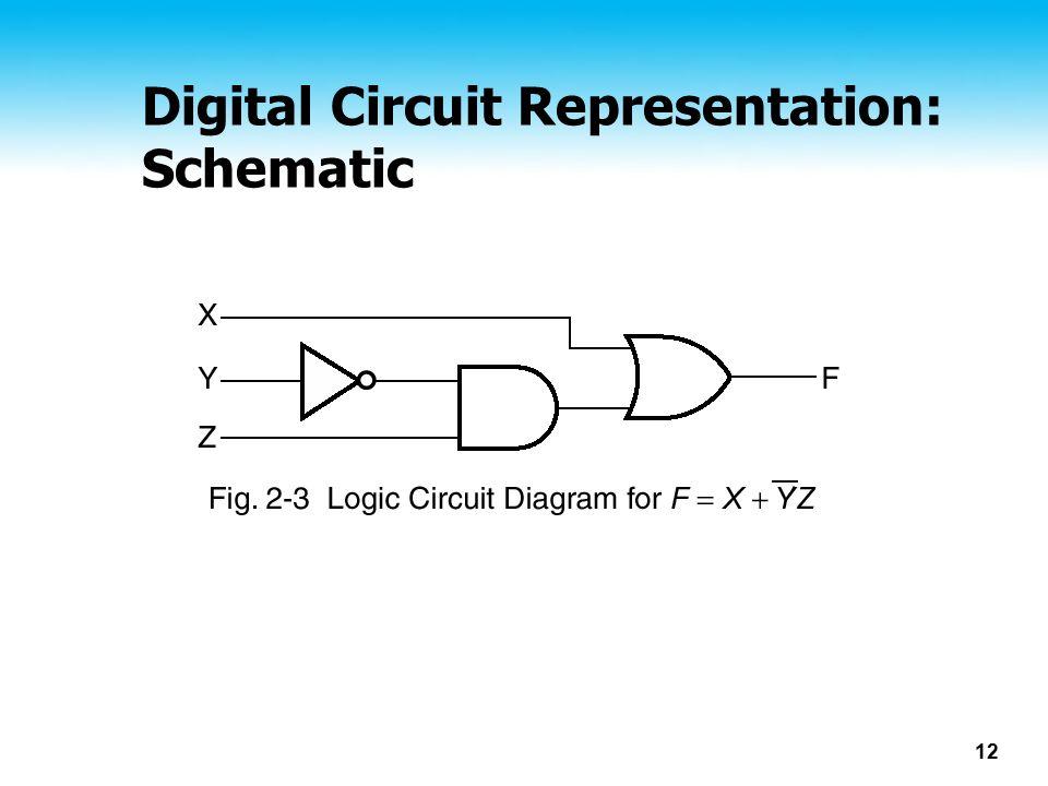 12 Digital Circuit Representation: Schematic