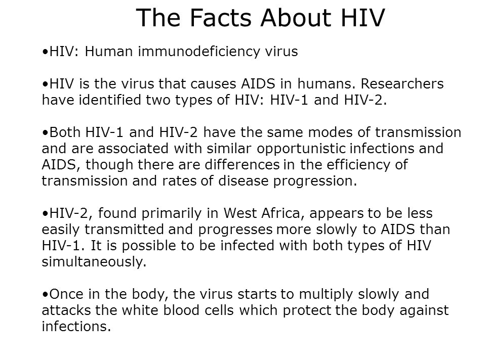 an introduction to the hiv virus human immunodeficiency virus that causes aids Hiv (human immunodeficiency virus) causes the disease known as aids (acquired immune deficiency syndrome).