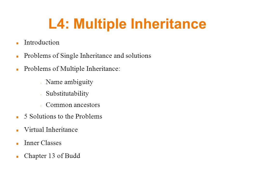 inheritance intros