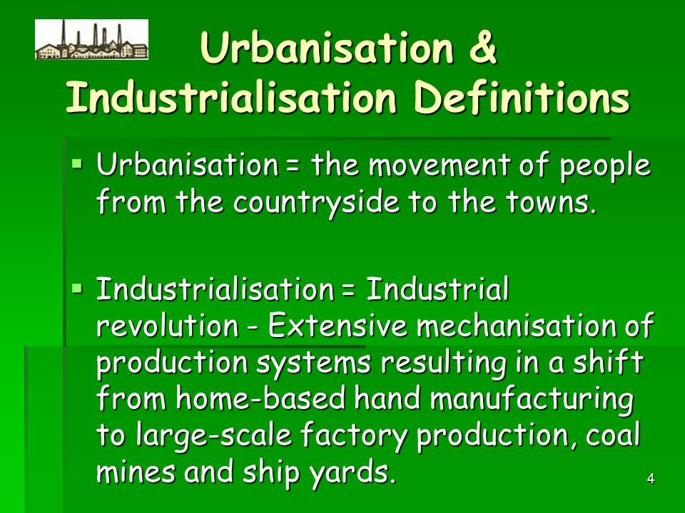 essay on urbanization