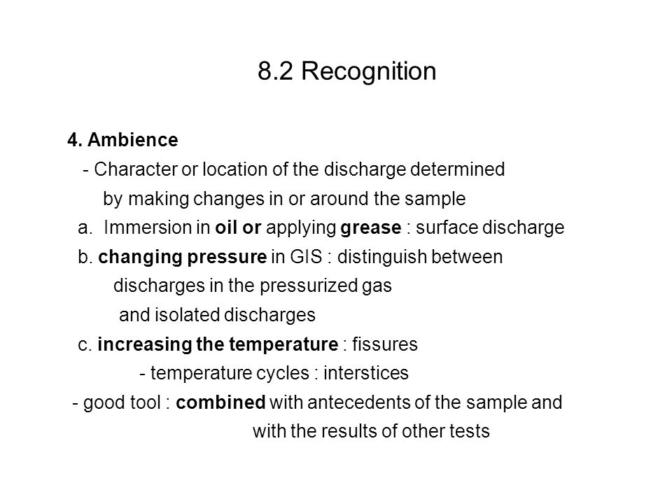 8 Evaluation of Discharges Evaluation of Discharges Ultimate goal – Sample Presentation Evaluation