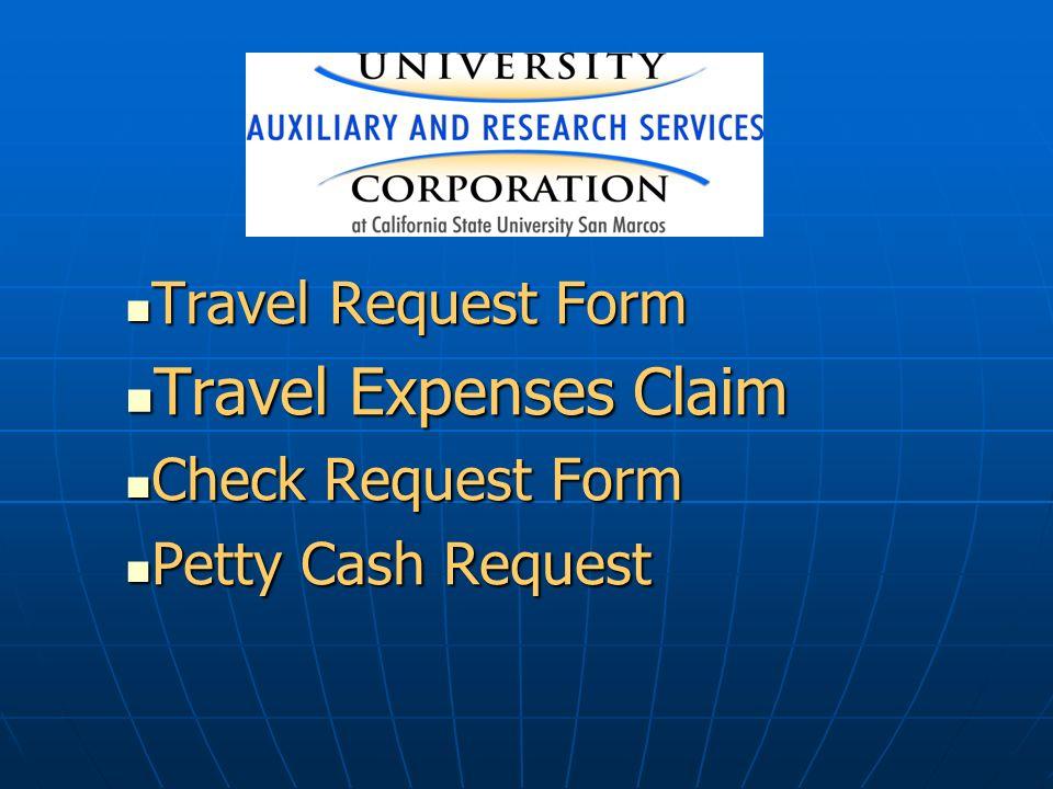 travel expences form