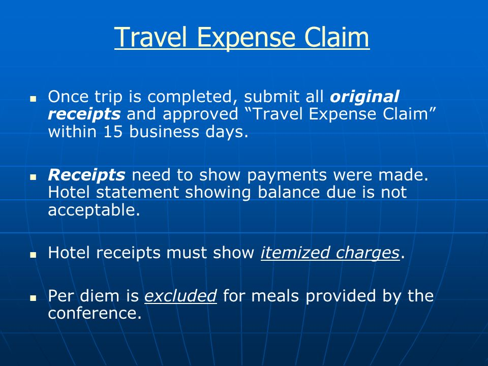 Travel Request Form Travel Request Form Travel Expenses Claim