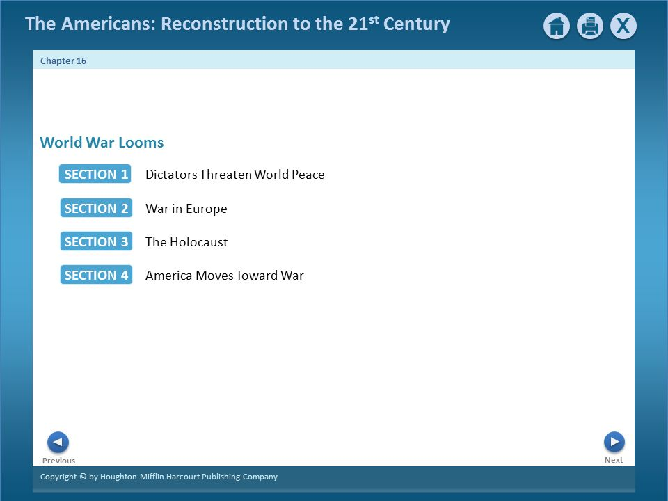 The Americans Reconstruction To 21 St Century Next Chapter 16