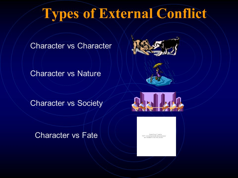 Conflict Conflict  Conflict is a problem that must be solved; an issue between the protagonist and antagonist forces.
