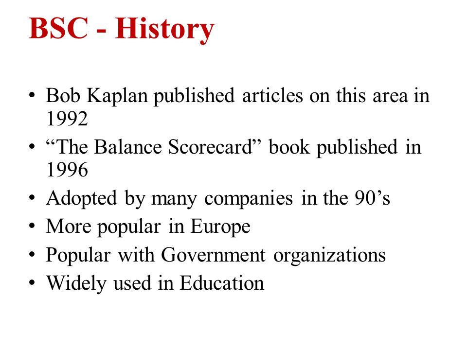 kaplan and norton 1996 book