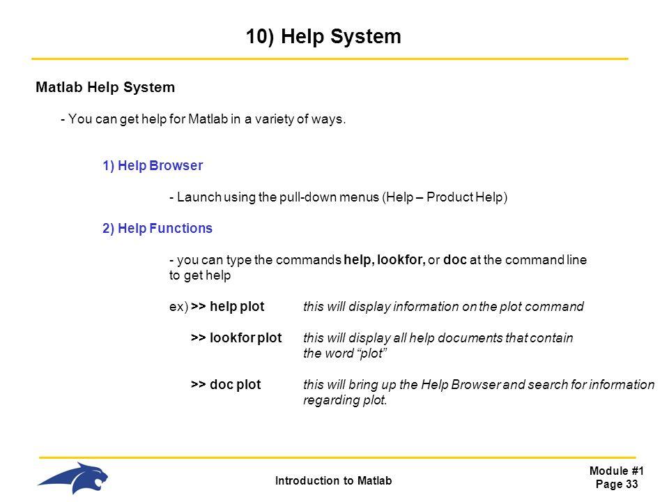 system in matlab