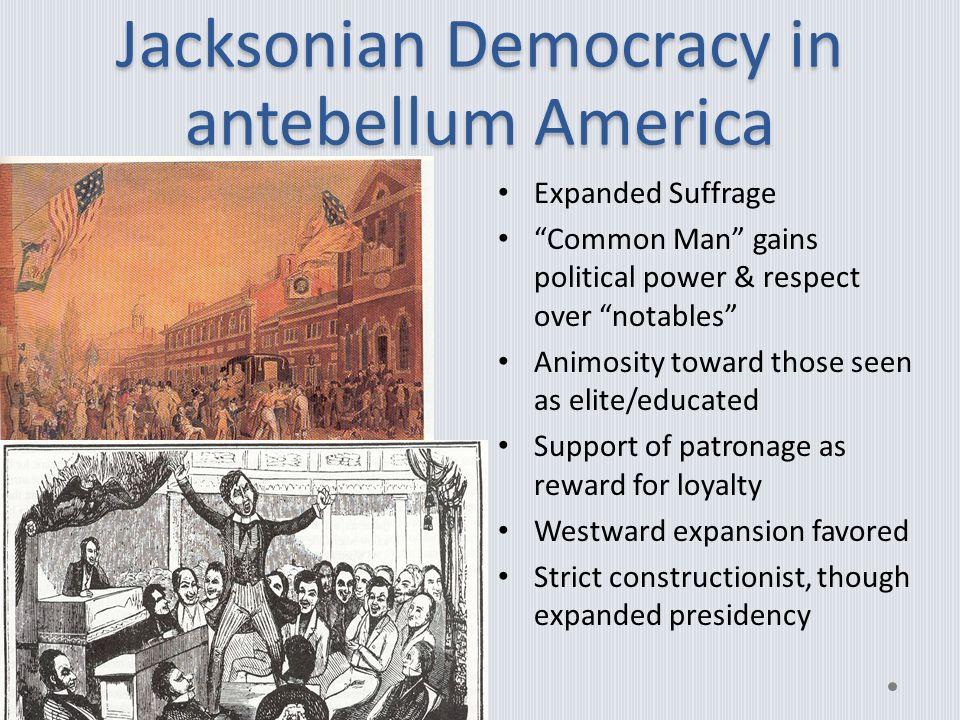 jacksonian democracy