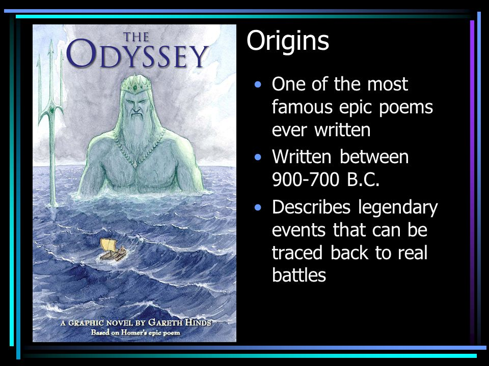 the theme of maturity in the odyssey an epic poem by homer The odyssey study guide contains a biography of homer, literature essays, a complete e-text, quiz questions, major themes, characters, and a full summary and analysis the odyssey study guide contains a biography of homer, literature essays, a complete e-text, quiz questions, major themes, characters, and a full summary and analysis.