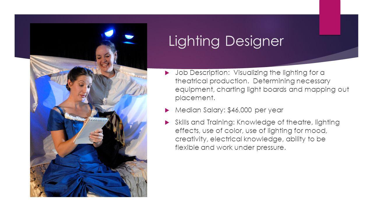 Lighting jobs