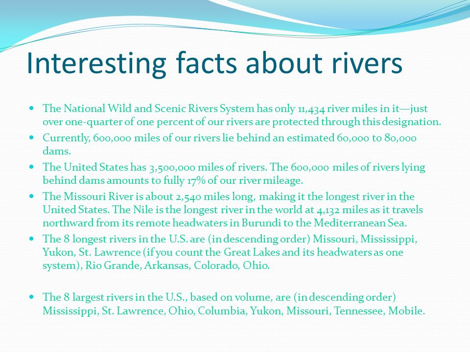 By Katie Morgan These Are The Biggest Rivers In The World - 5 largest rivers