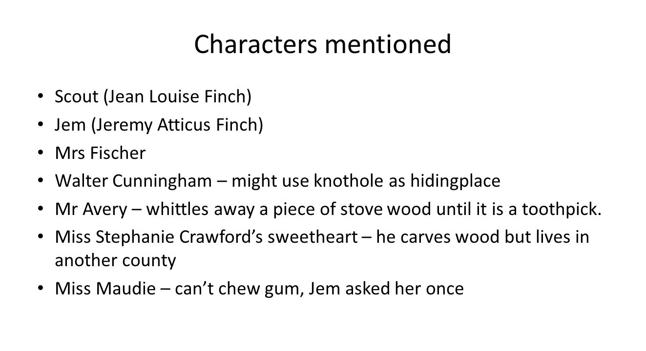 an analysis of the character of jem or jeremy atticus finch in to kill a mockingbird by harper lee