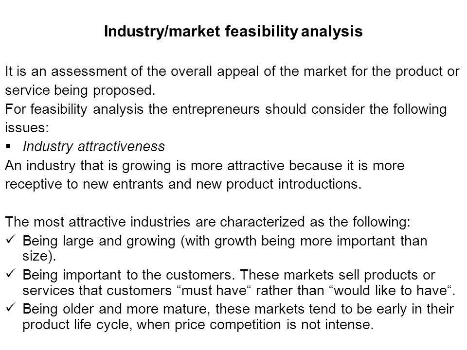 market feasibility study Download our free free feasibility study template which helps you to objectively decide whether to proceed with a proposed project visit us.