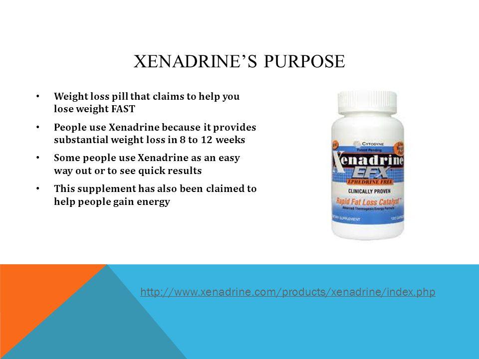 Xenadrine Pill