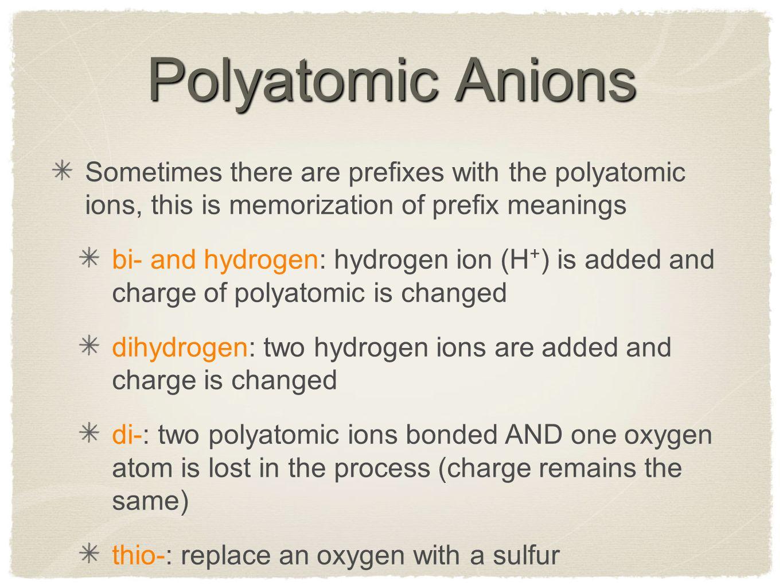 Chemical formulae symbols naming writing formulae ppt download 10 polyatomic gamestrikefo Images