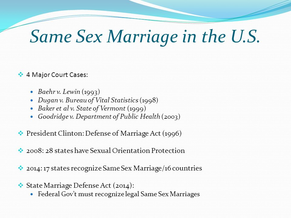 "an overview of the concept of defense of marriage act Yet as my co-authors and i argue in our new book ""what is marriage man and woman: a defense in defense of marriage defense of marriage act."