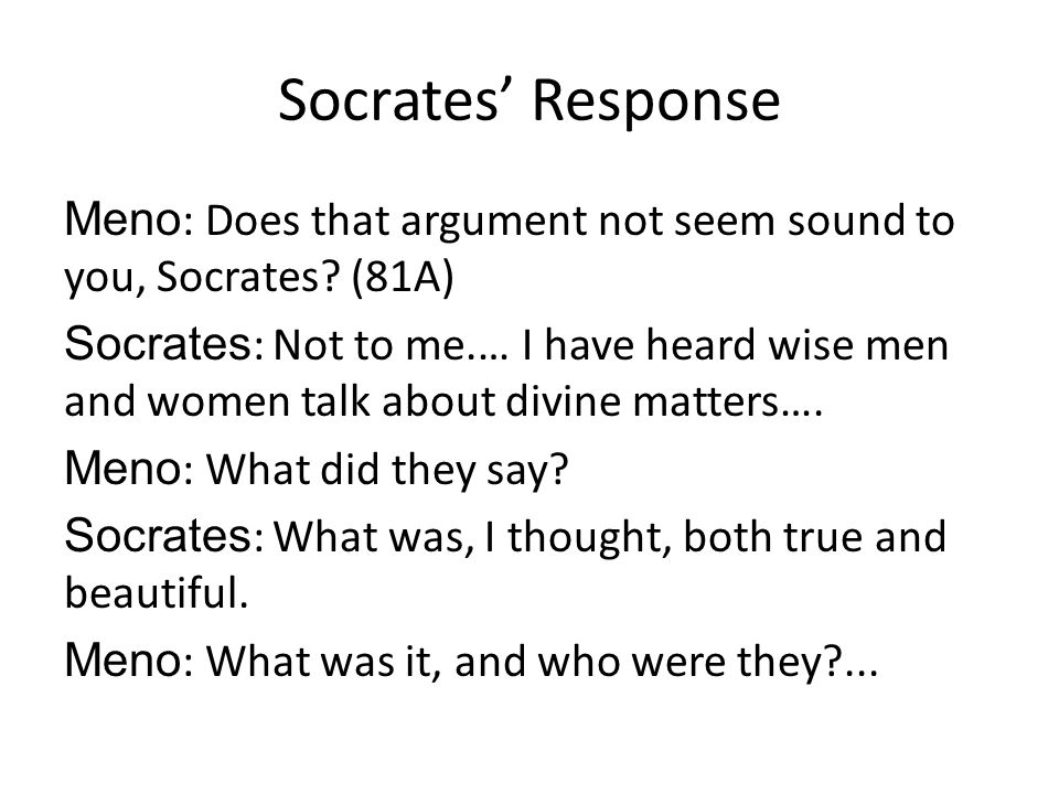 meno epistemology and socrates When socrates meets confucius socrates biography meno: epistemology and socrates your testimonials haven't found the essay you.