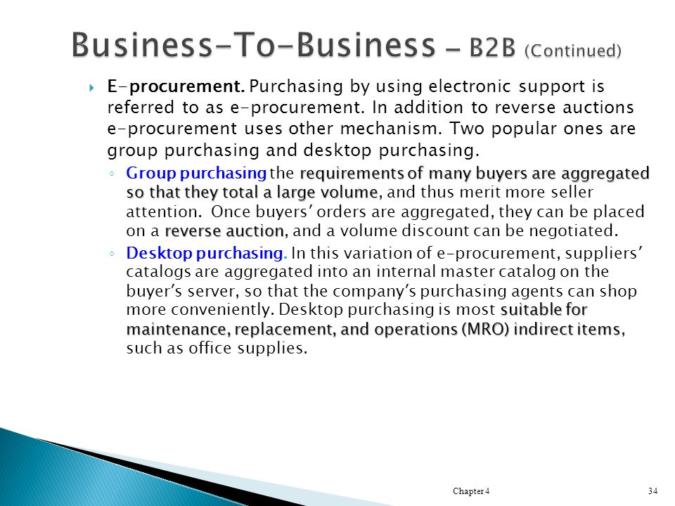  E-procurement. Purchasing by using electronic support is referred to as e-procurement.