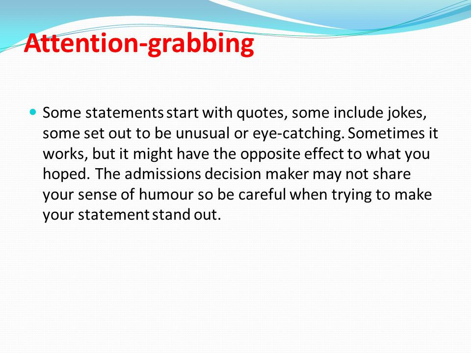 starting a personal statement with a question Personal statement examples school leaver personal statement example all personal statements should be tailored to the role in question no exceptions start.