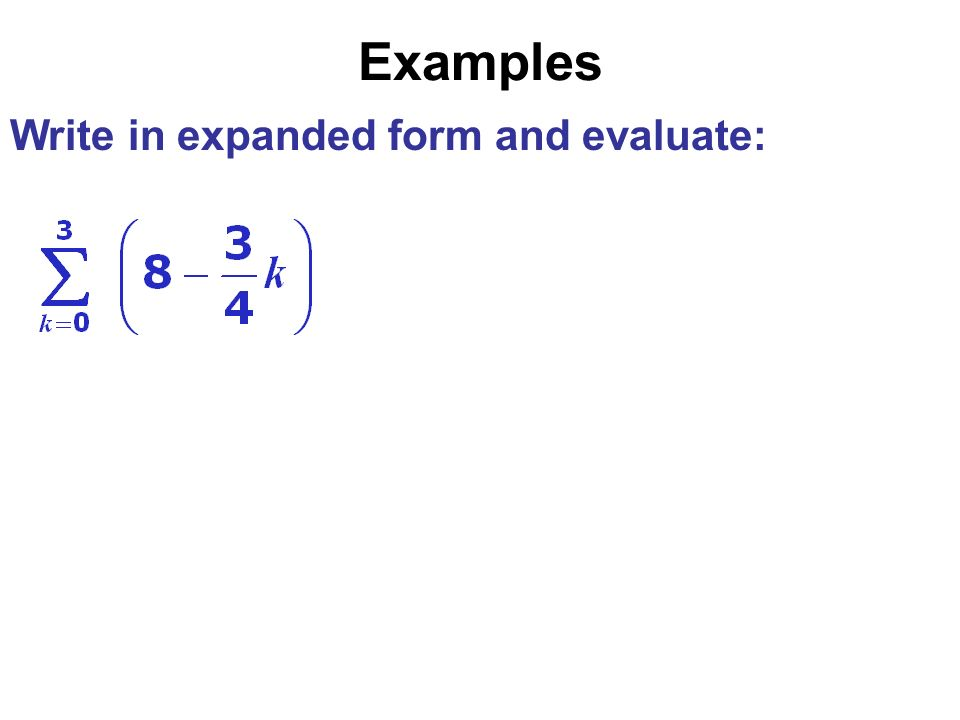 Write The Sum In Expanded Form Linertinamarkova