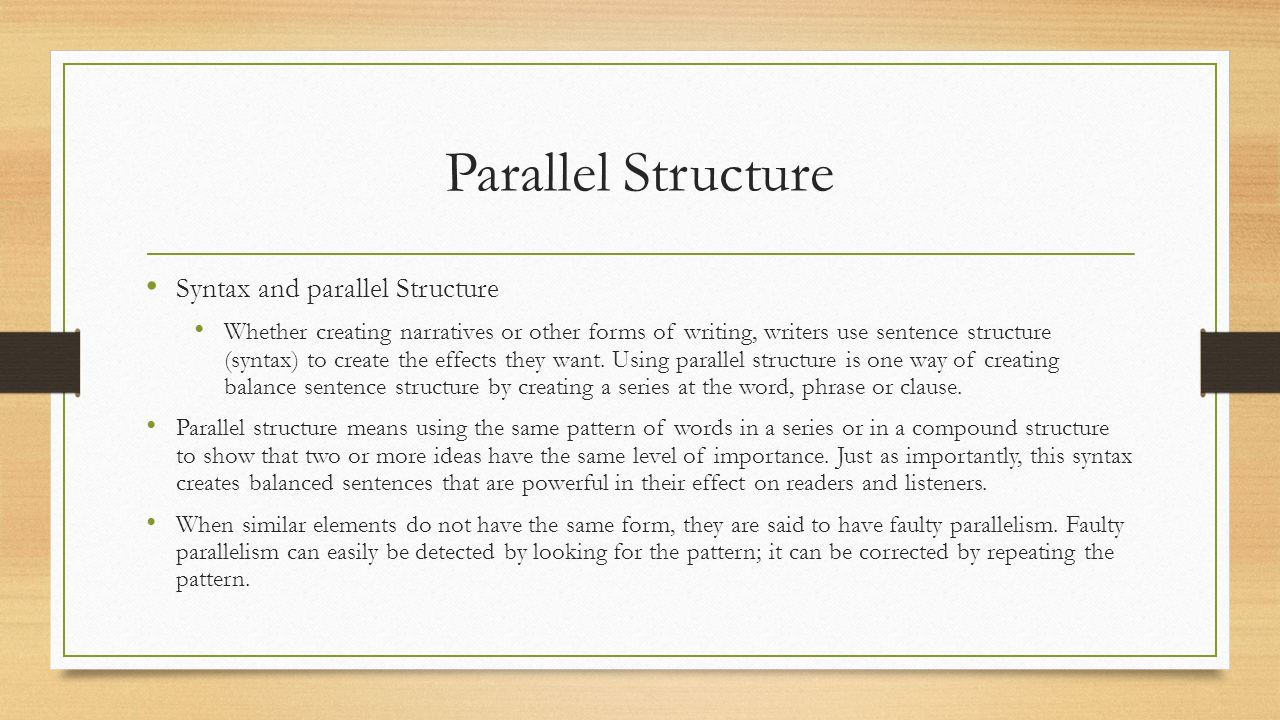 Lesson 7 Etymology Intro 1.4 Parallel Structure Library Purpose ...