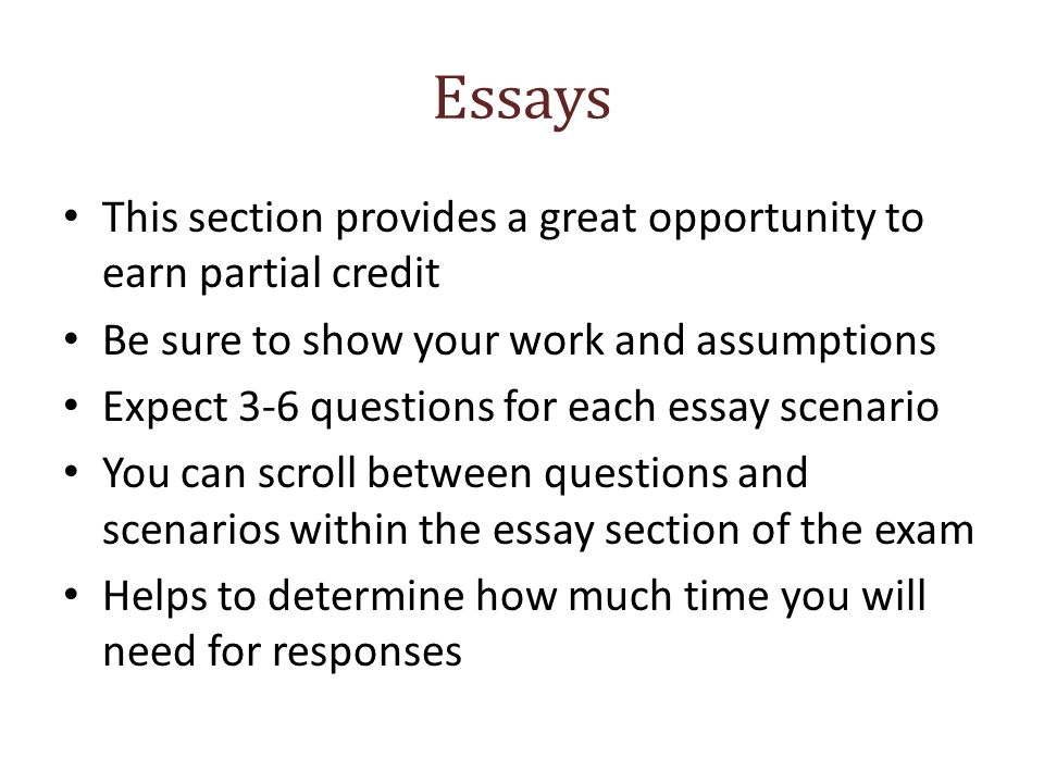 essays exam topics part financial planning performance and  3 essays this section provides a great