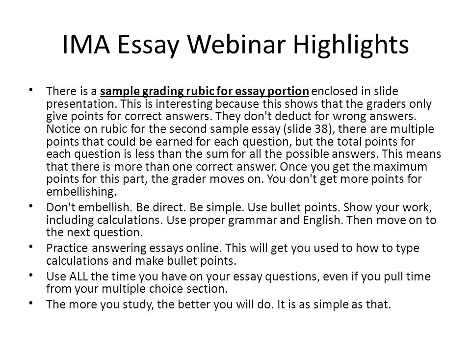 saple essays Essay examples would vary according to the type of essay you wish to write four kinds of essays exist including: narration, description, exposition, and argument.