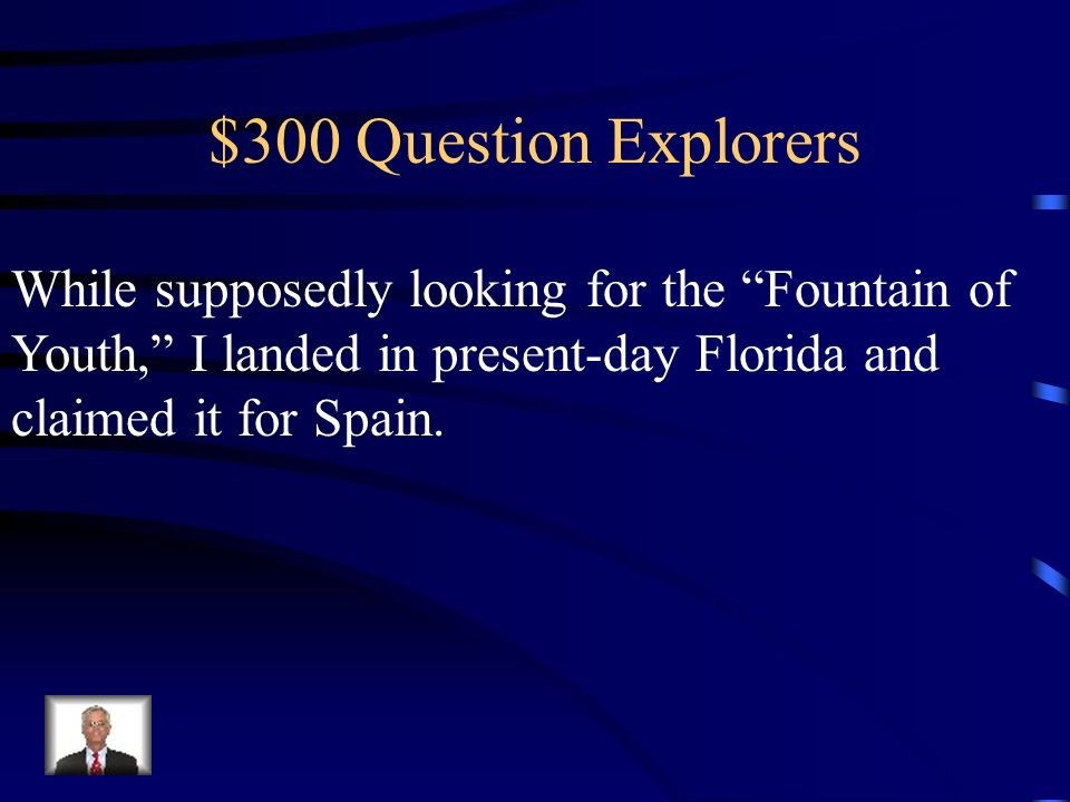 $200 Answer Explorers Who is Marco Polo