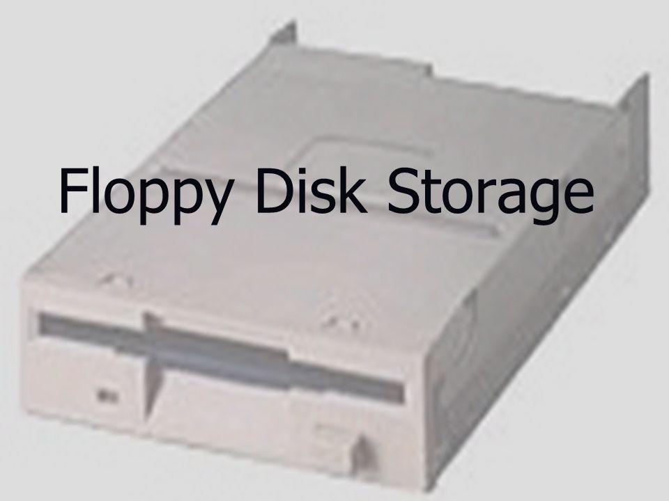 1 Floppy Disk Storage