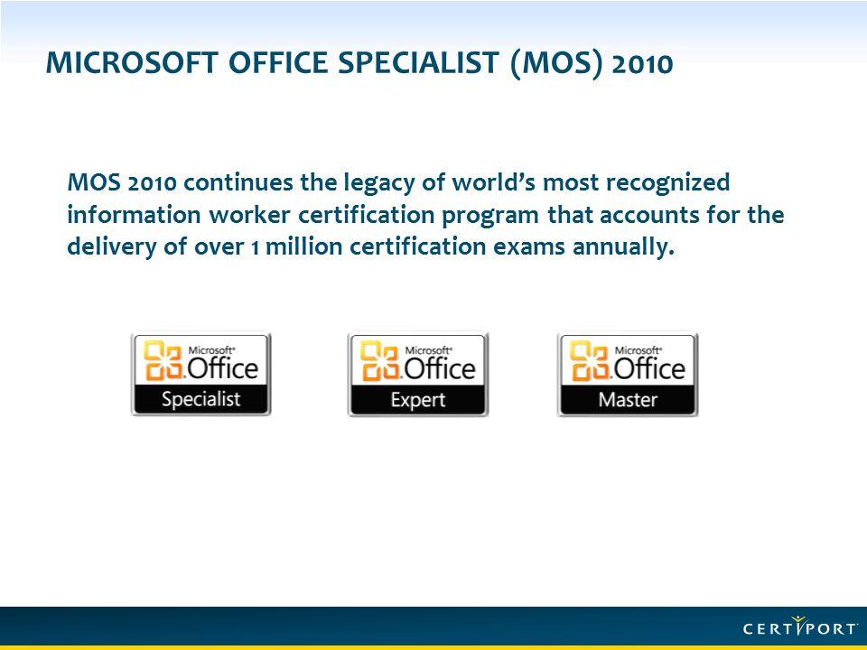 Microsoft Office Certificate Program Ukranochi