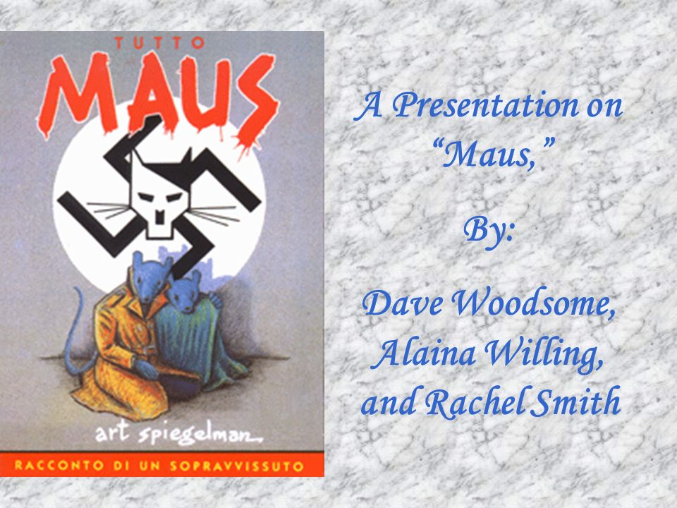 textual analysiscritique of maus ii