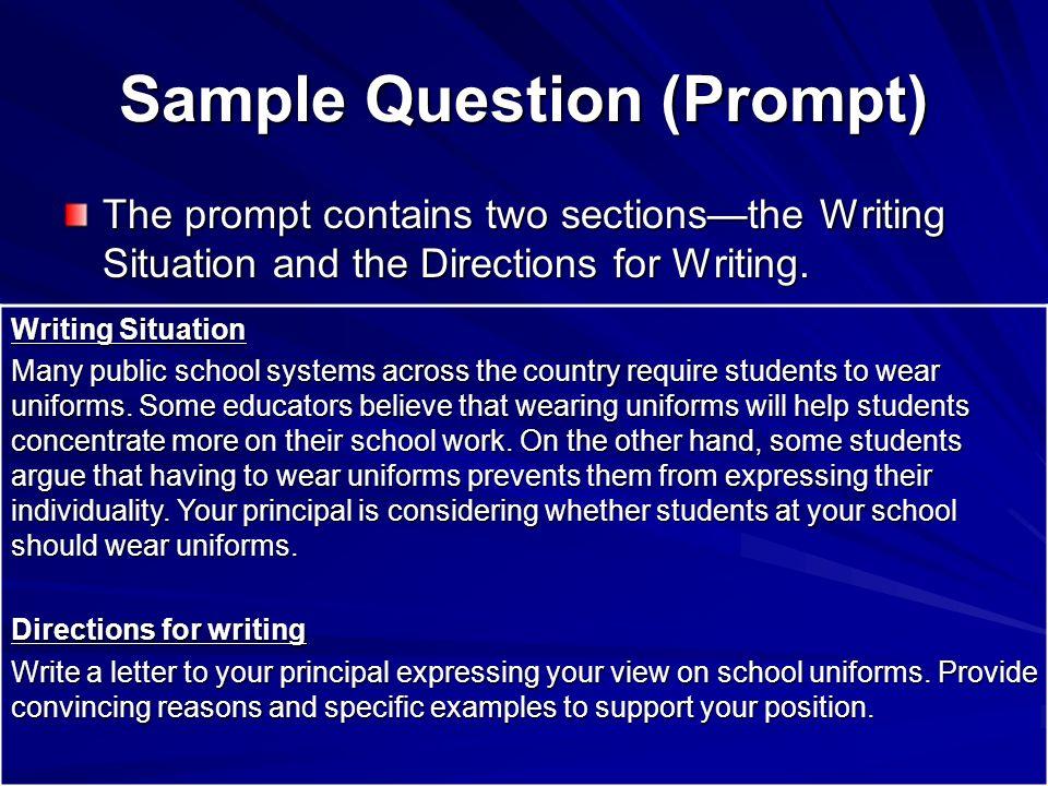 Georgia high school graduation writing test september 25 ppt download 3 sample spiritdancerdesigns Choice Image