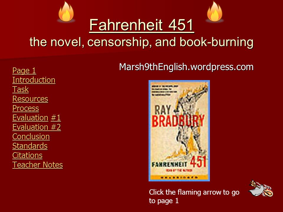 fahrenheit 451 and censorship essay My eng 4u isp on fahrenheit 451, i have an essay to go with it enjoy.